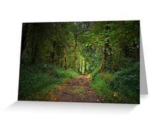 Dream Walk Greeting Card