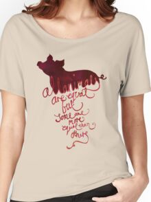 All Animals are Equal Women's Relaxed Fit T-Shirt