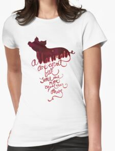 All Animals are Equal Womens Fitted T-Shirt