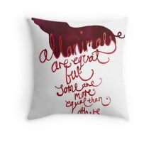 All Animals are Equal Throw Pillow