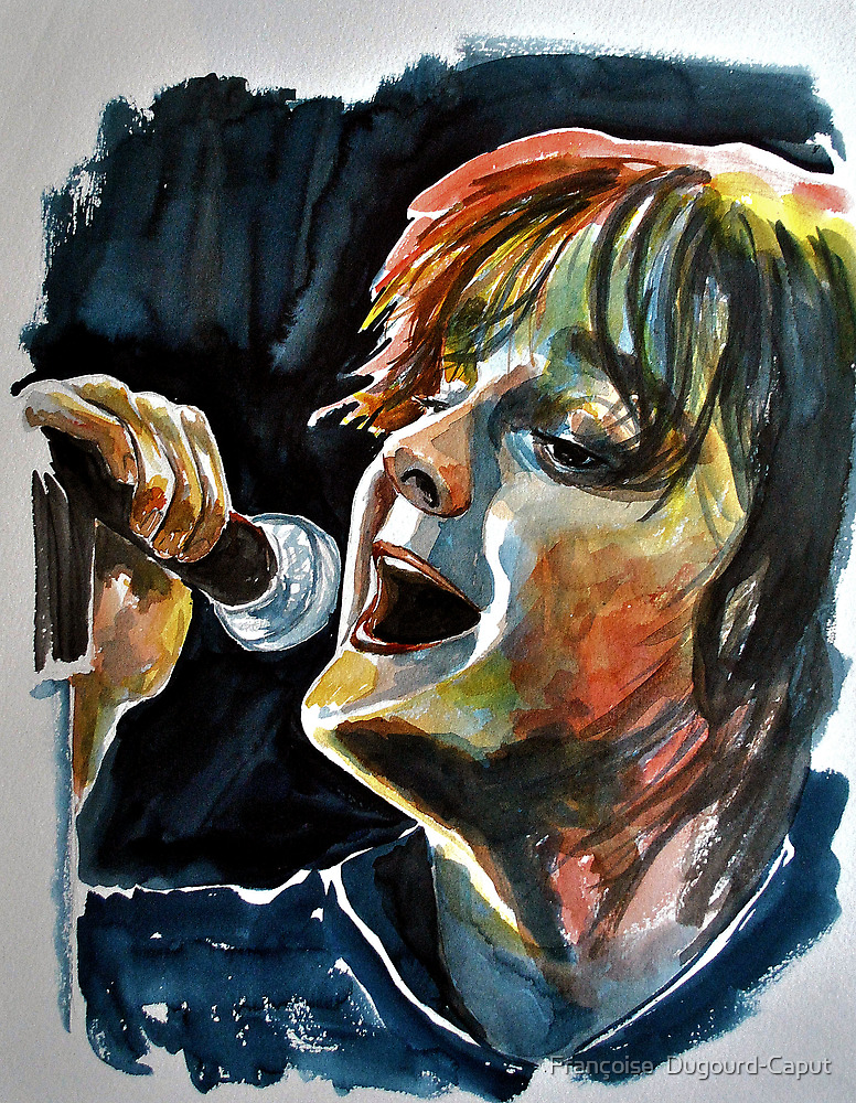 Tom Chaplin, featured in Art Universe, The Group by Françoise  Dugourd-Caput