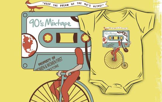 90's MIXTAPE by DREWWISE