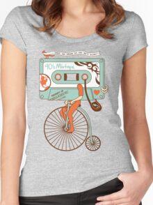 90's MIXTAPE Women's Fitted Scoop T-Shirt
