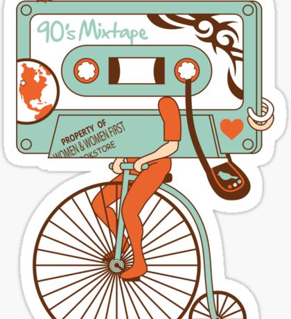 90's MIXTAPE Sticker