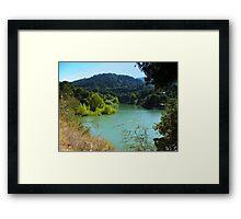 Enchanting view Framed Print