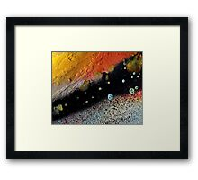 Through Space and Time Framed Print
