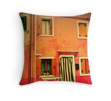 sicily again Throw Pillow