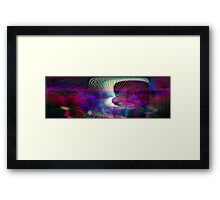 Putting out feelers Framed Print