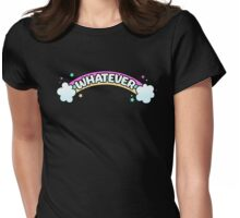 Whatever // Sarcastic Rainbow Pastel Goth Womens Fitted T-Shirt