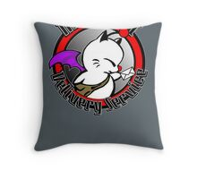 Mognet Delivery Service Throw Pillow