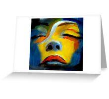 """Sleeping beauty"" Greeting Card"