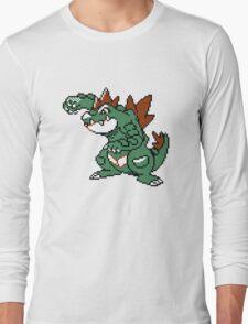 Feraligatr Devamped Sprite Long Sleeve T-Shirt