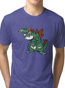 Feraligatr Devamped Sprite Tri-blend T-Shirt