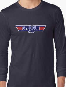 Top Gun Spud Gun Long Sleeve T-Shirt