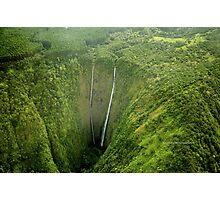 Hi'ilawe Falls Photographic Print