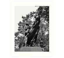 Statue of Jose Marti Art Print
