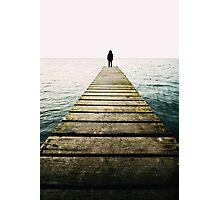 standing alone.. Photographic Print