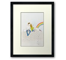 How Strange It Is To Be Anything At All by Joe Riley Framed Print