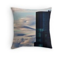 Building in the Sky Throw Pillow