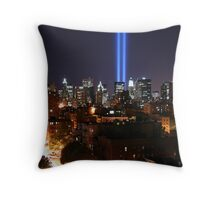 Memorial Lights Throw Pillow