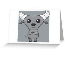 Kala the Carabao Greeting Card