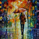 TOWARD LOVE - LEONID AFREMOV by Leonid  Afremov