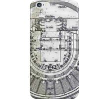 Perth Entertainment Centre Layout iPhone Case/Skin