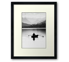Evening Hunt Framed Print