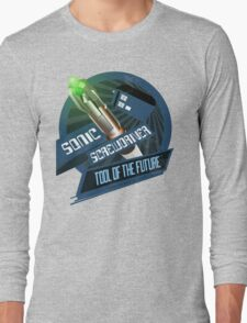 Screwdriver of the Future! Long Sleeve T-Shirt