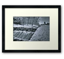 Fountains Abbey in Winter Framed Print