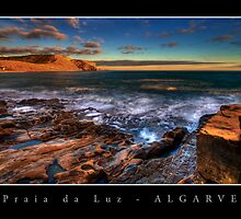 Praia da Luz Sunrise 1 by Guy Davies
