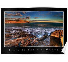 Praia da Luz Sunrise 1 Poster