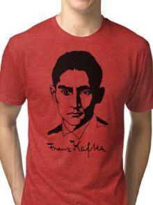Franz Kafka (Light) Tri-blend T-Shirt