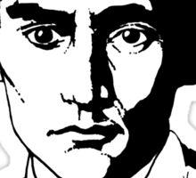 Franz Kafka (Light) Sticker