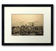 Old World City Framed Print