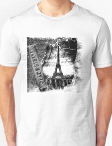 Vintage Eiffel Tower Paris #2 T-shirt T-Shirt
