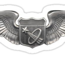 Astronaut Wings Sticker