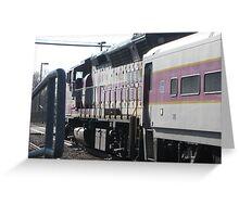 Commuter Rail at Norwood Depot Station Greeting Card