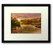 """ Reflect Yourself "" Framed Print"