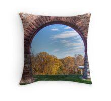 War Corresponent's Arch Throw Pillow