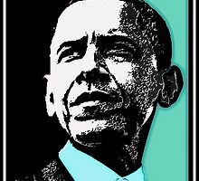 PRESIDENT OBAMA-DEMOCRATIC PARTY 2 by OTIS PORRITT