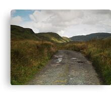 Blue Stack Mountain Road Canvas Print