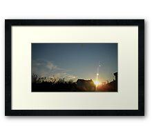 Planet's 5 Framed Print