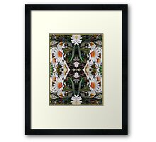 Hope - Card IV from The Tarot of Flowers Framed Print