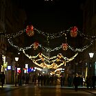 My wonderful Krakw . Grodzka Street. by Brown Sugar. Merry Christmas 2012. by AndGoszcz