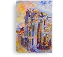 Ephesus Ruins Canvas Print