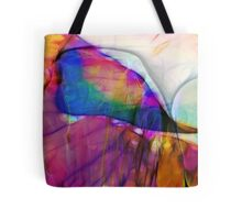 Coloured Abstract Tote Bag