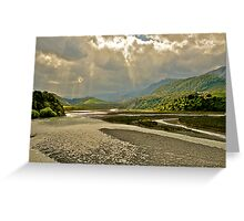 Storm Clouds over Lewis Pass Greeting Card