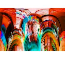 Coloured Abstract #2 Photographic Print