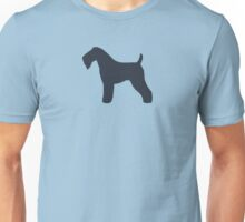 Kerry Blue Terrier Silhouette(s) Unisex T-Shirt